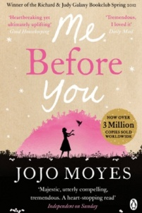 Bilde av bok: Me before you - Jojo Moyes